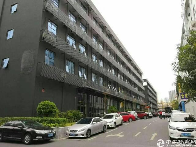 银田工业区宗泰文创园办公场地1至5层出租