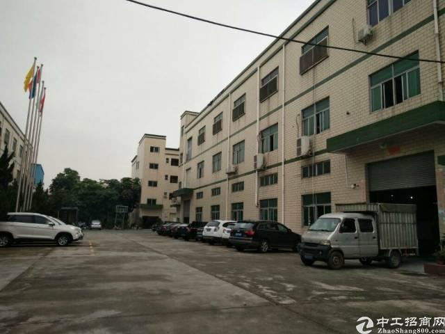 沙井新桥第三工业区1到3层5100平方独院厂房出租