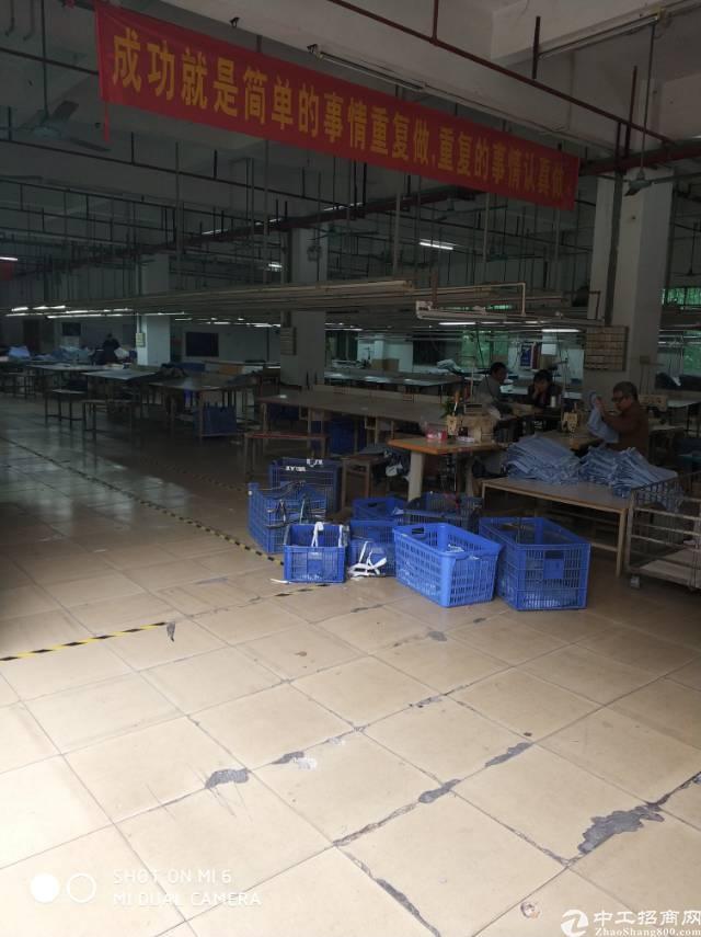高埗镇下江城标准厂房2楼招租