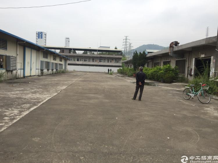 东莞靠深圳清溪独院单一层5500平,滴水6米,空地3000平