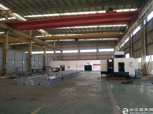 企石稀缺14米滴水钢构重工厂房6750平方,带现成五吨、十吨