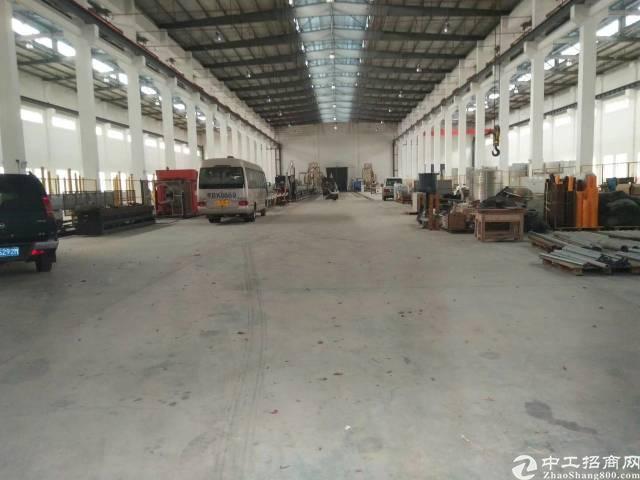 沥林镇高速路口附近单一层钢构厂房招租