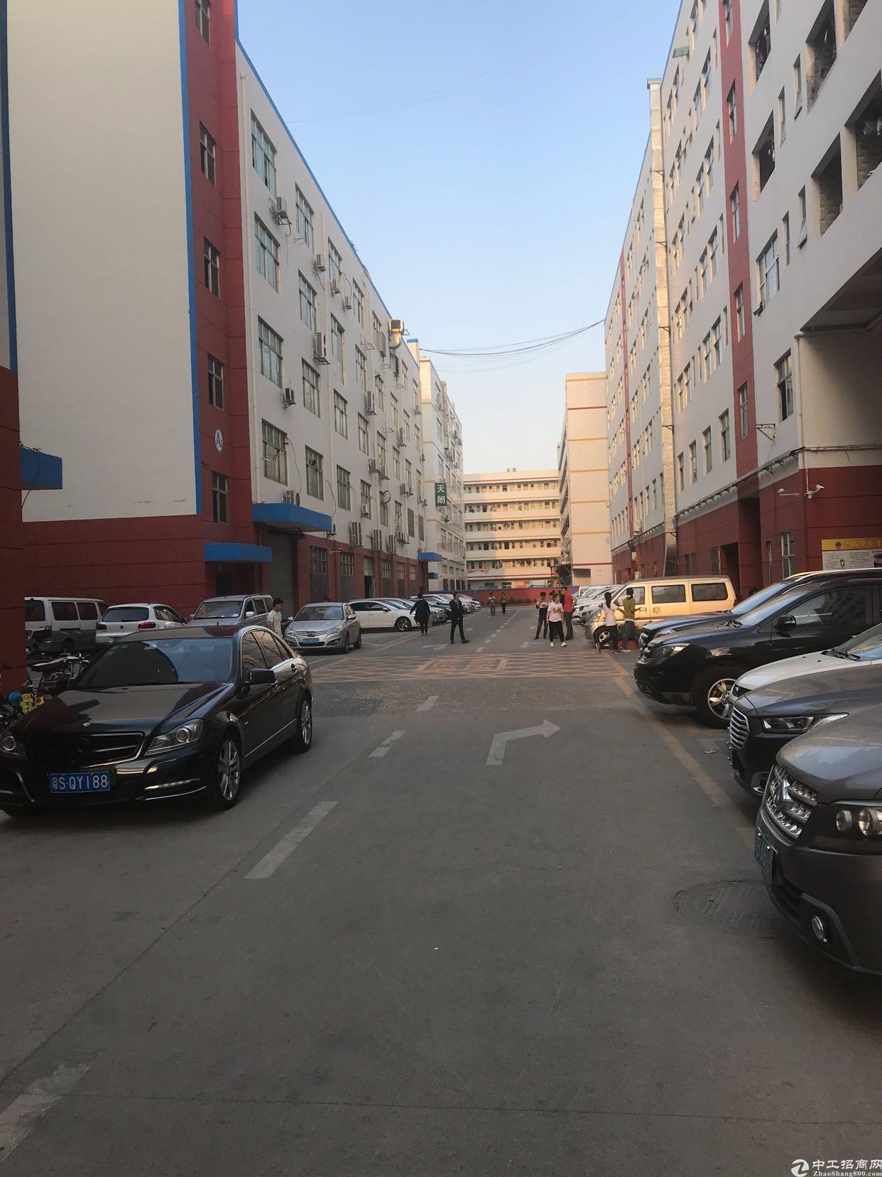 龙华浪口工业区原房东400平厂房招租,面积实在