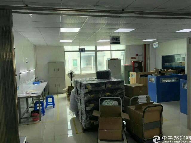 龙观快线边花园式厂房楼上1300平标准厂房出租