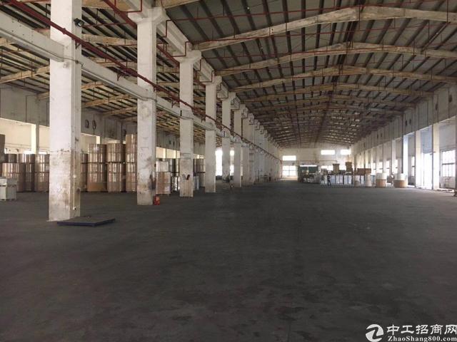 清溪三中高速口新空12米高钢结构厂房8500平方出租