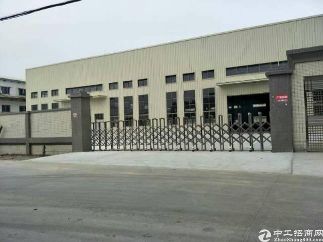 横沥镇新出全新钢构厂房2600平方米滴水10米出租
