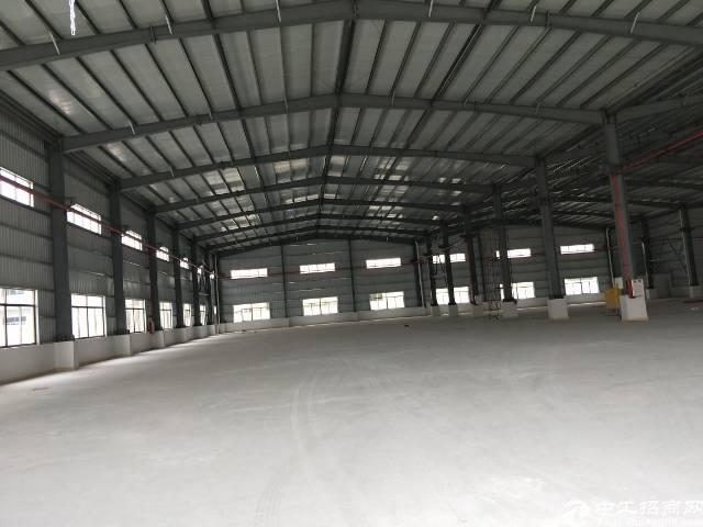 企石镇实业工厂分租钢构单一层厂房1380平方