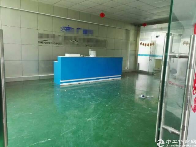 坪山龙田社区二楼带装修厂房整层1300平出租