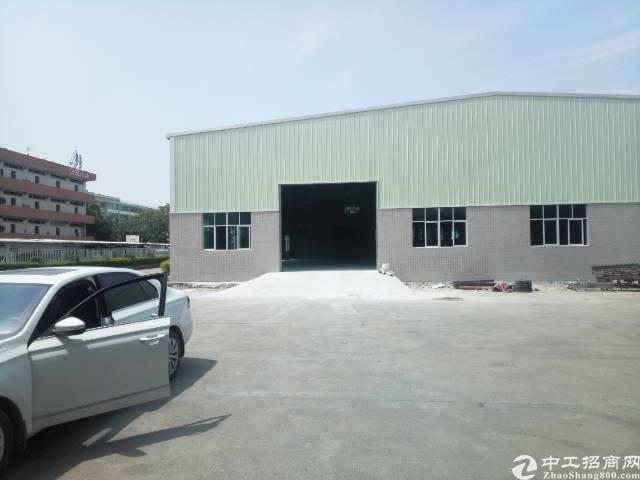 常平镇东莞东站附近单一层厂房1800平方出租
