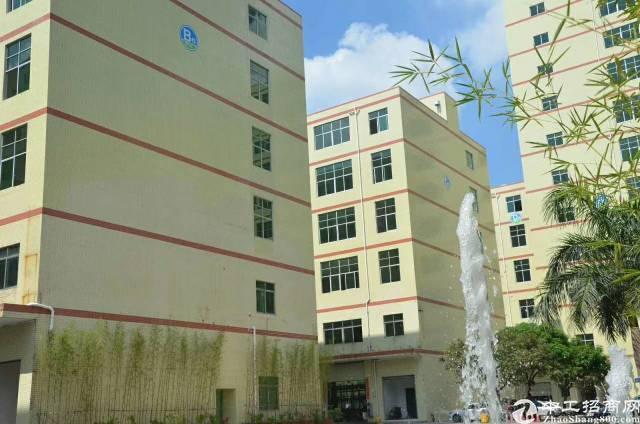 龙胜地铁站旁新出楼上800平方厂房,园区形象好,使用率高