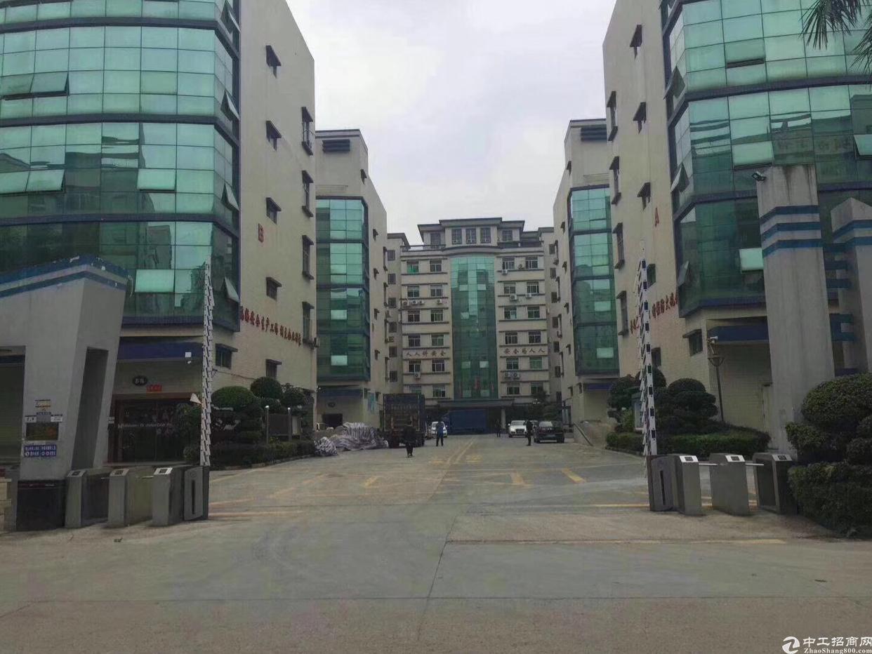 龙华中心区主干道旁高新园区精装修办公室1200平