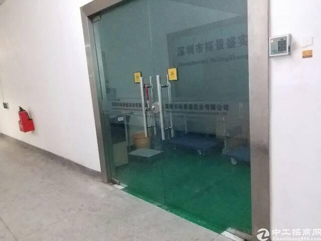 沙井,宝安大道地铁口1300平方豪华精装修厂房
