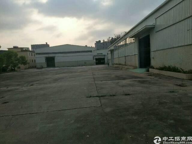 龙岗高速出口附近独院钢构3000平米厂房出租