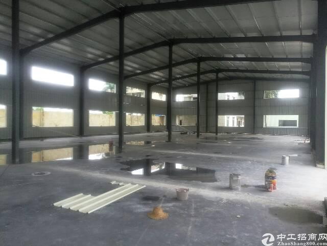 横岗新出全新钢构,6800平方,层高八米