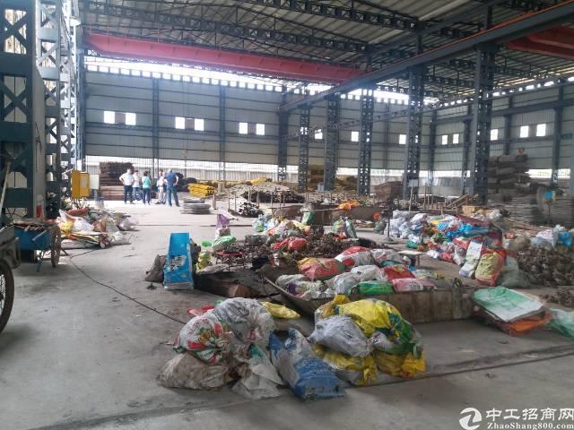 虎门镇赤岗村钢构厂房出租厂房面积3700平方办公楼装修好的