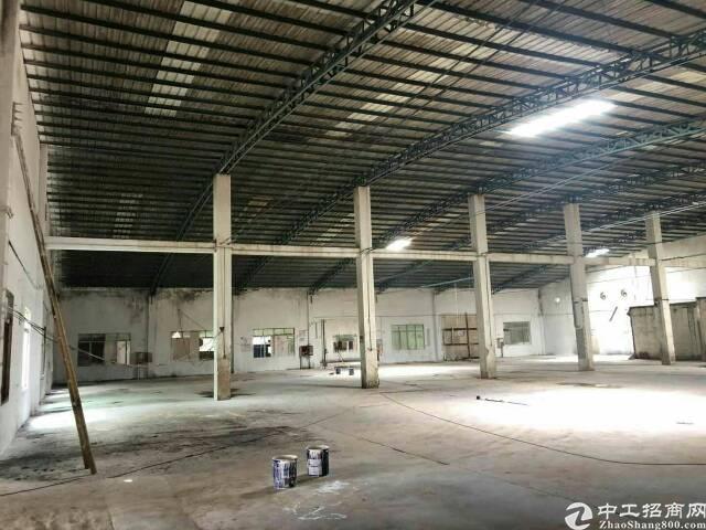 坪山区坪山街道六联社区两个独院钢构厂房7000平米招租