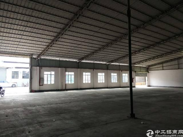 万江中心新出3500平单一层独院厂房出租