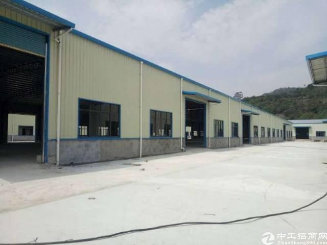 新圩 塘口全新钢构厂房4000平深水十米出租