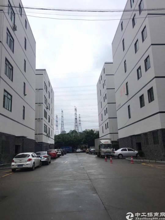 龙华大浪新出原房东厂房1-5层,单层面积1100平,带装修