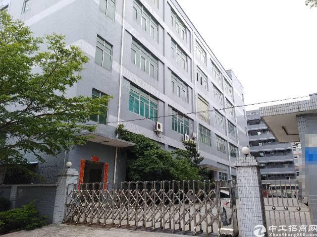沙井新桥新出独院1-5层12200平米一楼六米高厂房出租