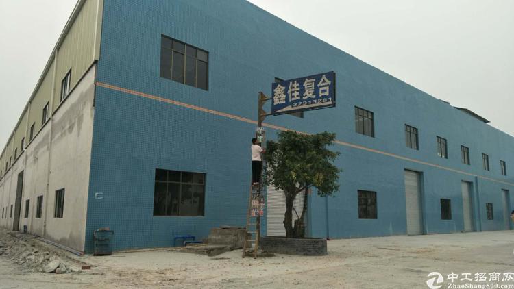 新塘镇瑶田大道边全新标准厂房