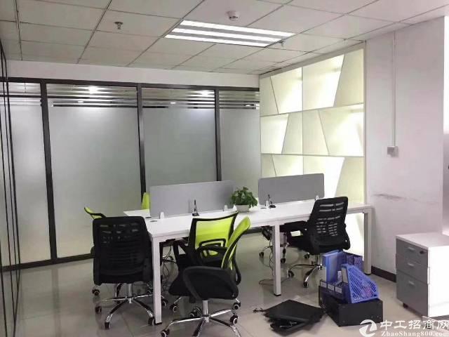 沙井宝安大道旁300平方带精装修办公室出租