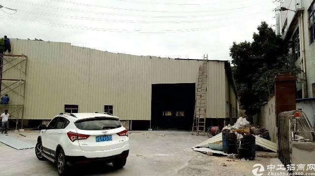 坪山坑梓独门独院钢构厂房出租3200平