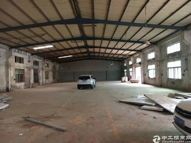 坪山坑梓独院钢构厂房出租2500平 空地超大