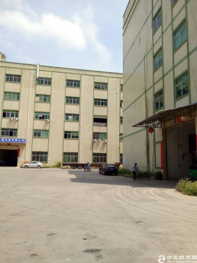 坑梓龙田大型工业园分租三楼带装修厂房2200平方-图4