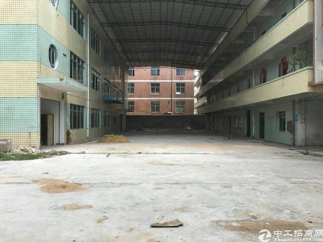 坪山新区1楼层高5米厂房4900平18元租