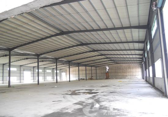 桥头新出单 一层全新钢构厂房2000平方