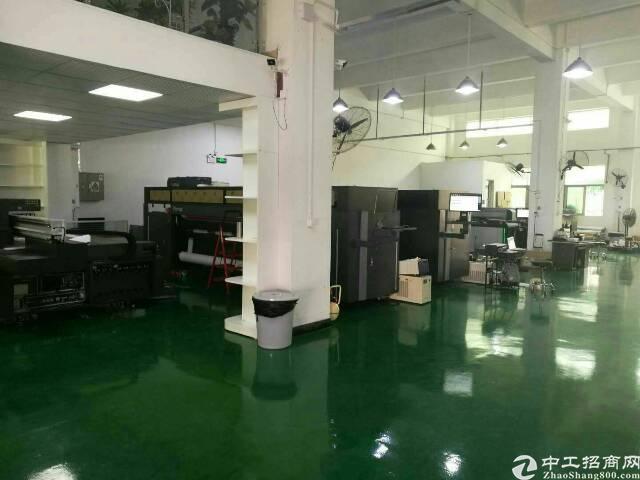 观澜新田新出一楼带豪华装修600平米厂房出租
