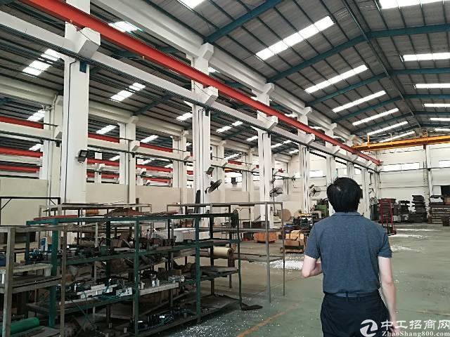 大朗镇钢结构独院2600平方带牛腿位厂房招租