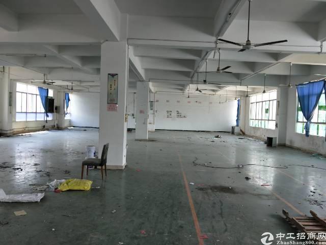 横岗地铁站附近新出1000厂房楼上带地坪漆