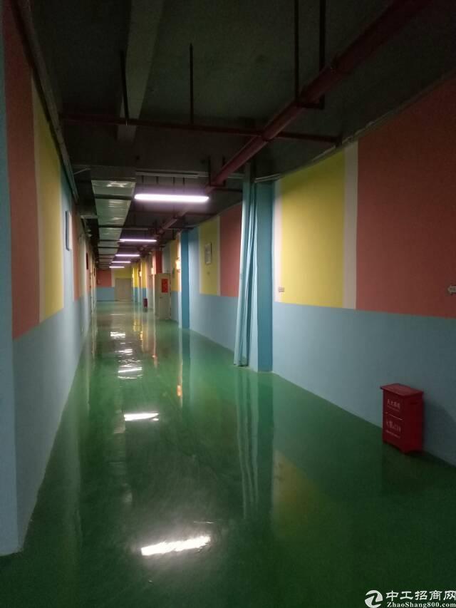 坑梓龙田大型工业园分租三楼带装修厂房2200平方