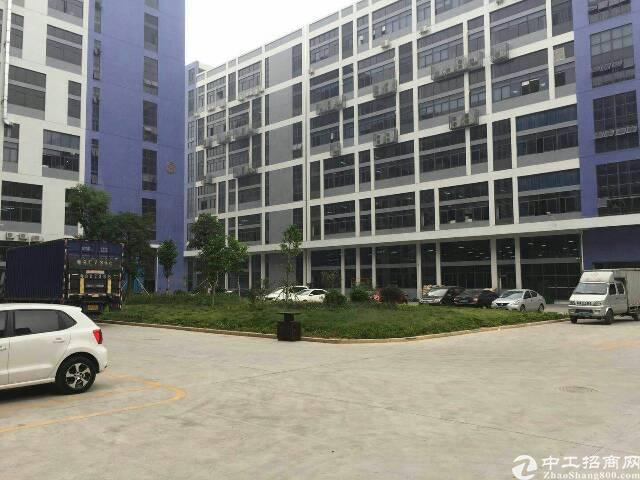 长安厦岗中南广场附近工业区新出楼上带装修3000平米出租