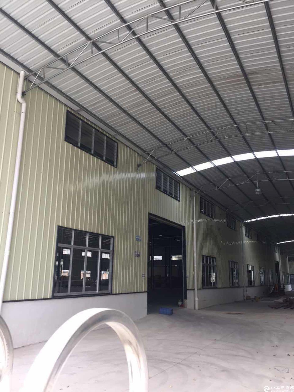 常平新出原房东分租单一层钢构厂房3000平