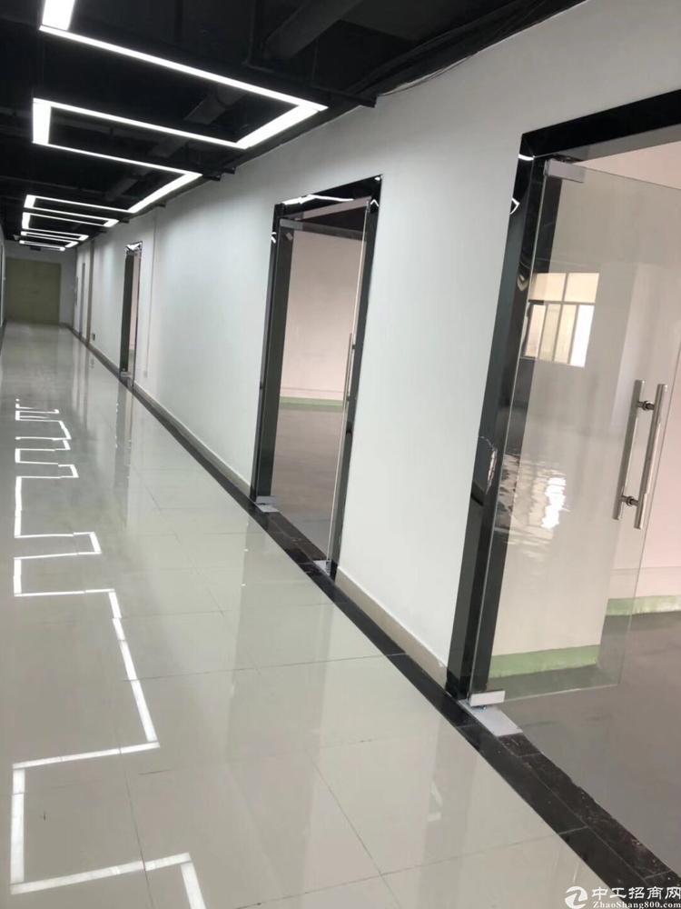 桃花源松岗分园全新精装修写字楼出租户型60-230平米有红本