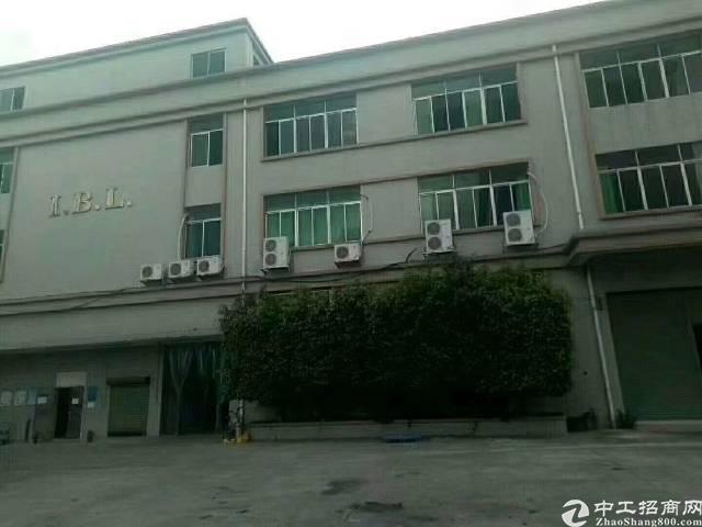深圳宝安沙井大王山独门独院厂房一楼3200平方高6米带牛角