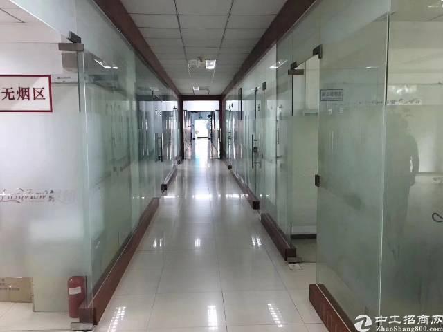 西乡宝安大道边新出三楼整层1100平方米带办公室装修水电