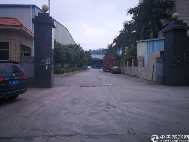 大岭山镇厚大路单一层钢构红本厂房招租