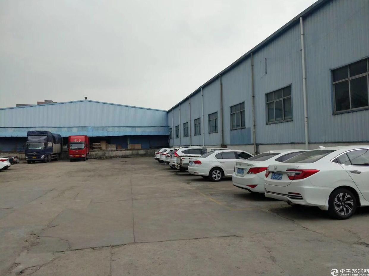 大岭山107国道旁70000平铁皮厂房可办环评分租