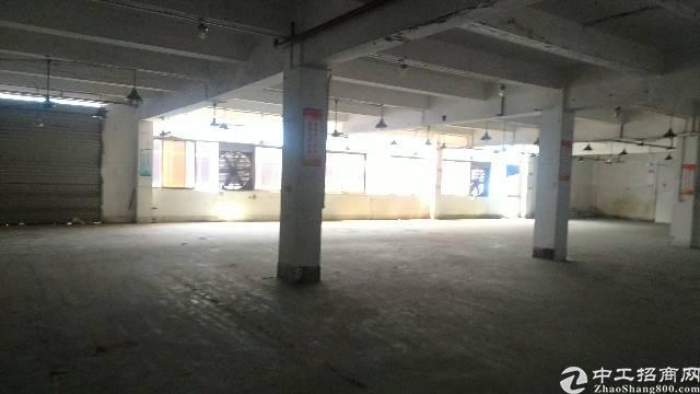 松岗107国道边新出楼上带装修厂房1100平方低价出租