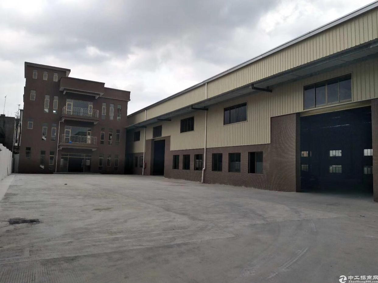 坪山 新出3700平米独院钢构厂房出租
