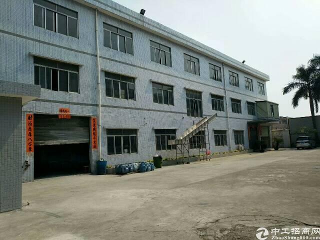 大岭山1-3层独院厂房消防配套齐现成装修厂房出租