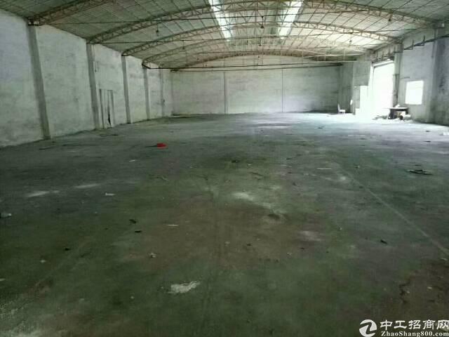 大朗新出经典独院钢构厂房分租750平方,滴水9米,