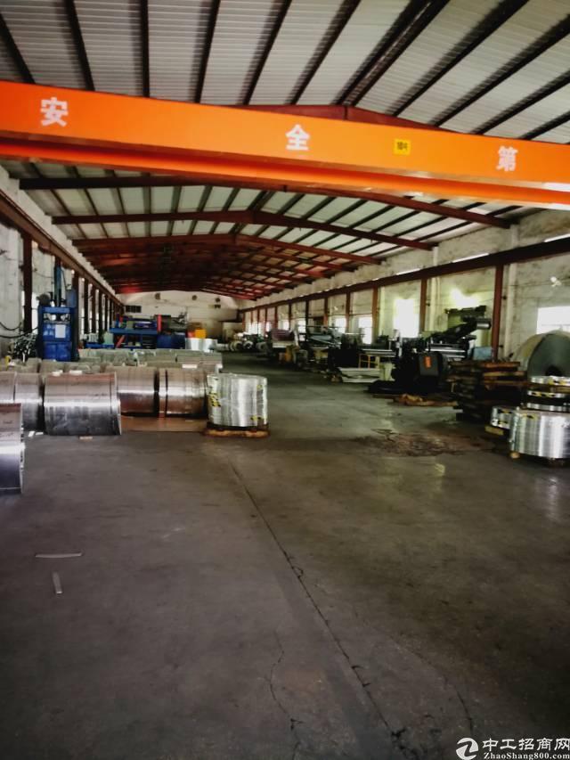 横岗安良7米高4800平米标准钢构厂房招租