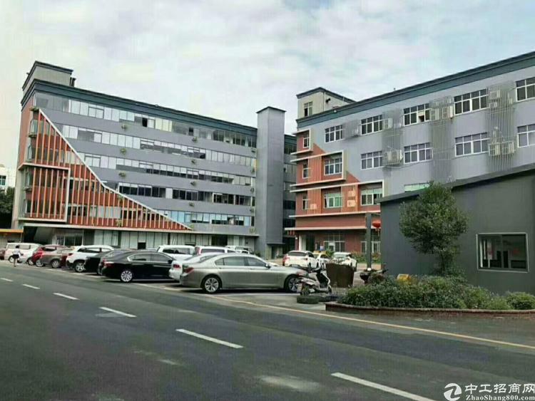 福永凤凰带红本高新园区1-4楼10000平米, 入驻享受国家