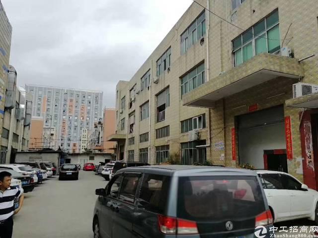 独门独院:沙井后亭厂房1一3层5280,一楼层高6米,没有宿