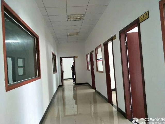 清溪原房东厂房,没有公摊,面积3750平方米,每层1250平
